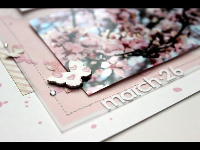 Scrapbooking Process :: Spring