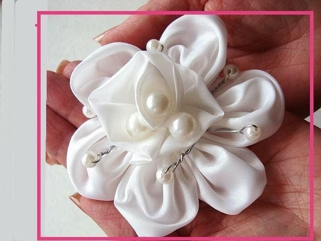 Silky bridal flower, how to diy, wedding accessories, inde weddings, budget wedding
