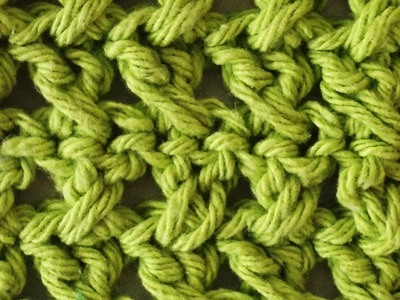 Stitch Repeat Cross Stitch Free Crochet Pattern - Right Handed