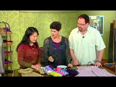 Tencel Yarns with Laura Bryant and Barry Klein, From Knitting Daily TV Episode 1007