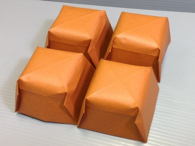 Valentine's Day Origami Chocolate - Make Your Own!