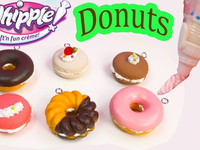 Whipple Craft N Fun Creme Desserts Donuts Macarons Food DIY Craft Toy Unboxing Fun
