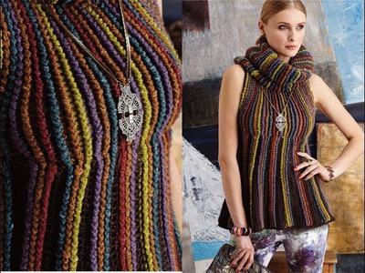 #17 Empire-Waist Top, Vogue Knitting Crochet 2014