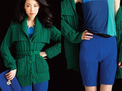 #22 Cabled Cardigan, Vogue Knitting Early Fall 2012