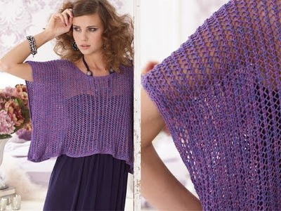 #26 Parachute Top, Vogue Knitting Early Fall 2010