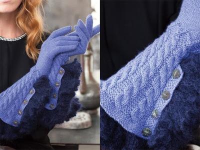 #27 Gloves, Vogue Knitting Winter 2011.12