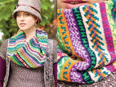 #28 Mobius Cowl, Vogue Knitting Winter 2013.14