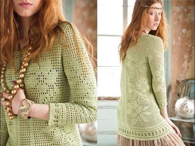 #3 Mini Sheath Dress, Vogue Knitting Crochet 2014