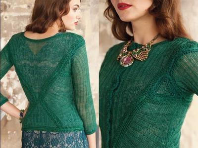 #3 Modular Jacket, Vogue Knitting Holiday 2013