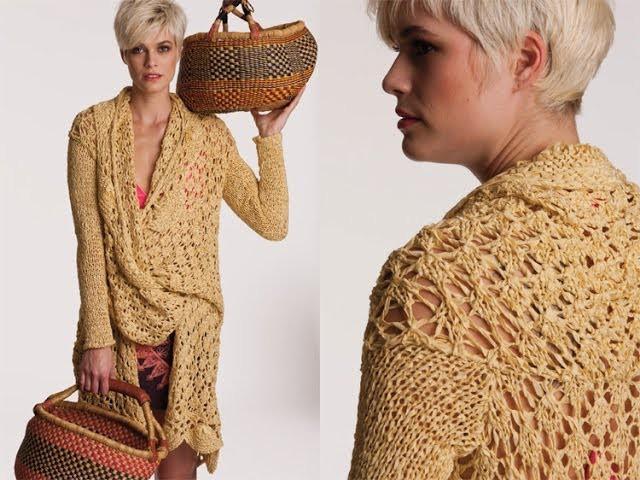 #31 Lace Jacket, Vogue Knitting Spring.Summer 2012