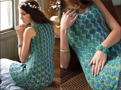 #5 Opalescent Tunic, Vogue Knitting Crochet 2014