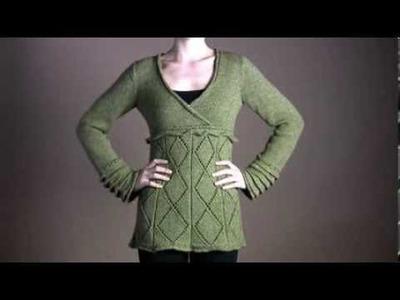 #9 Greenland Sweater, Vogue Knitting Fall 2008
