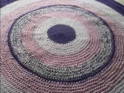 Alfombras en crochet,decoracion