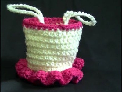 Ballerina and Princess Bag Crochet Tutorial