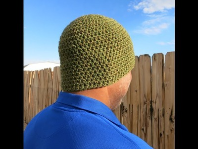Basic Men's Beanie Free Pattern Workshop