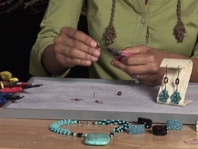 Beading Projects : How to Make Beaded Earrings