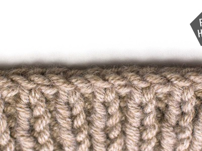 Bind Off in Pattern :: Bind Offs :: Right Handed