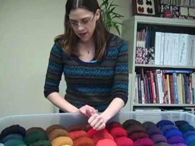 Color Selection for Knitting Colorwork
