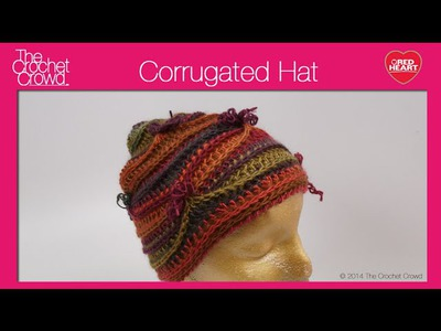 Corrugated Crochet Hat Tutorial