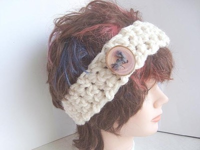 CROCHET a Simple Headband, how to diy for beginners