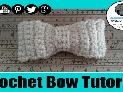 Crochet Bow Tutorial - Whip it Up Wednesday