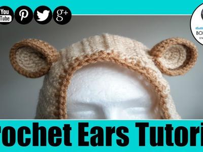 Crochet Ears Tutorial