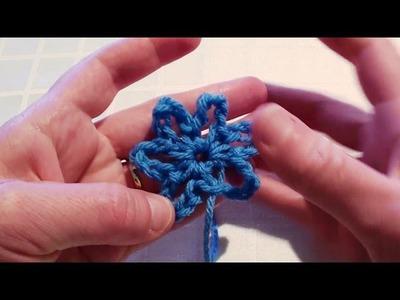 Crochet Flower Beginner - Beginner Crochet Flower
