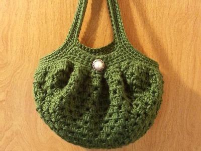#Crochet Handbag Purse #TUTORIAL