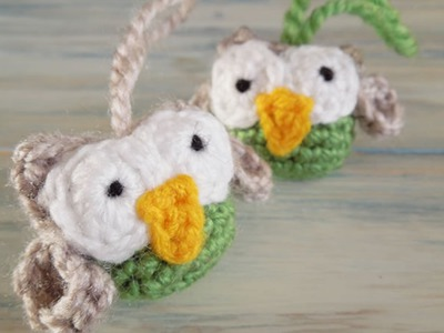 (crochet) How To - Crochet A Small Owl