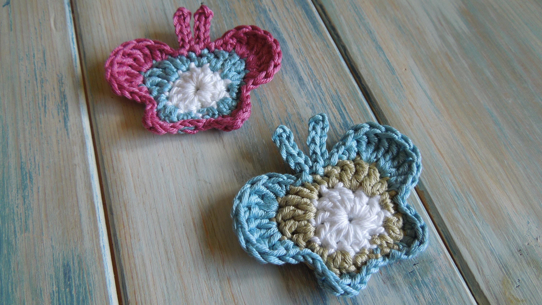 (crochet) How To - Crochet a Butterfly - Yarn Scrap Friday