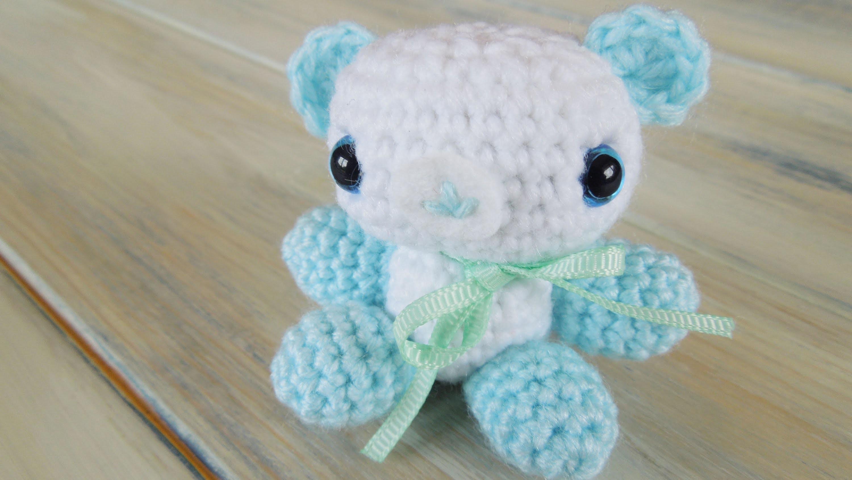 (Crochet) How To - Crochet Amigurumi Baby Shower Bears