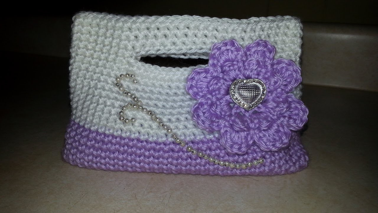 #Crochet Little Girls Handbag Purse #TUTORIAL