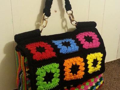 #Crochet Look A Like Dolce & Gabbana Designer Handbag  #TUTORIAL How to crochet