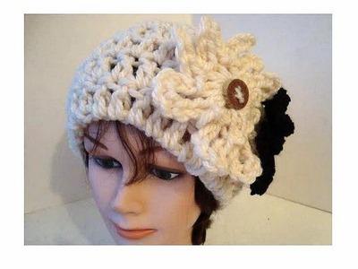 CROCHET PATTERN, cloche hat, Adult size