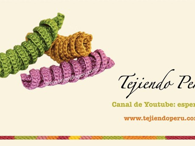 Crochet: resortes tejidos