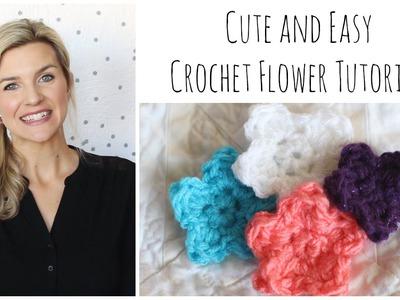 Cute Easy Crochet Flower Tutorial