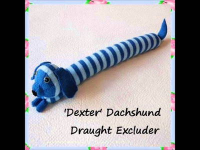 Dexter Dachshund Sausage Dog Draught Excluder Country Pet Toy Knitting Pattern