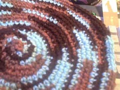 Dinner Plate Crochet Hat