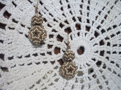 DIY 2 tutorial in 1: beaded beads da 8 mm