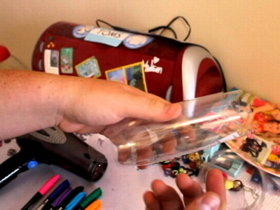 DIY: How to make beads out of a plastic bottle!