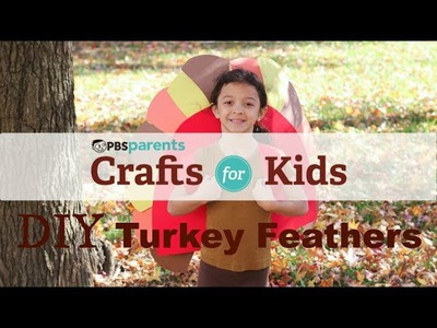 DIY Turkey Wings | Thanksgiving Crafts for Kids | PBS Parents