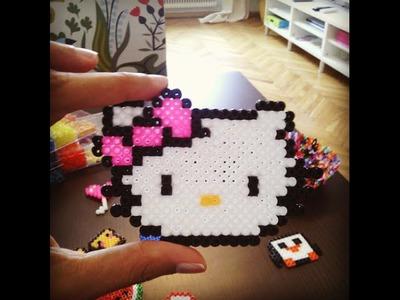"""DIY. Tutotial: Como Fazer qualquer coisa com missangas derretidas """"Hama Beads"""""""
