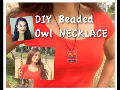 DIY Wire Owl Necklace | TUTORIAL