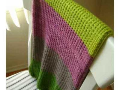 Easy Baby Knitting Blankets