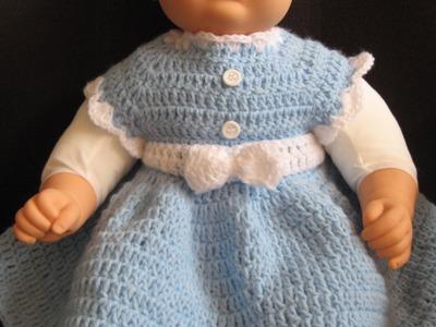 Easy crochet Baby Dress   Beginner Level