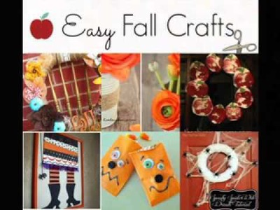Easy DIY Craft ideas for fall