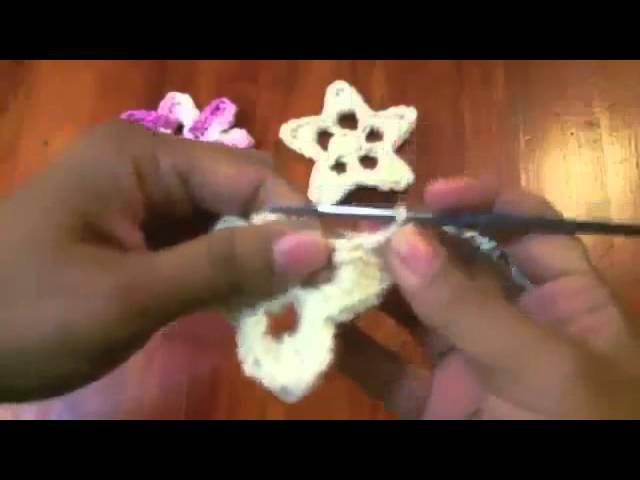 Estrella y Flor - Tutorial de tejido crochet