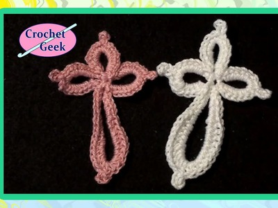 Eternity Cross - Crochet Geek CrochetGeek Crochet Geek