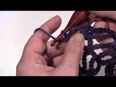 How to Crochet:Berry Harvest Bandana Cowl (& Shawl)