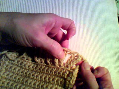 How to Crochet - Double Ruffled Edge